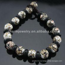 2013 estilo de la vendimia porcelana perlas pulsera SB-0223