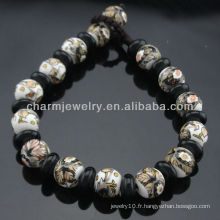 Bracelet en perles de porcelaine Vintage style 2013 SB-0223