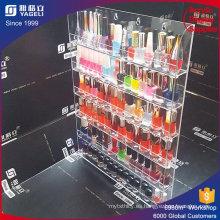 Organizador Nailpolish de acrílico transparente de cristal Venta al por mayor