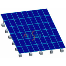 Solar PV Ground Mount on Flat Roof