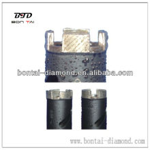 Pedacitos de diamante de piedra con segmentos de disposición de pozos mejor que Husqvarna
