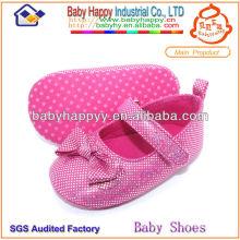 Venda por atacado bonito sapato de bebê strass