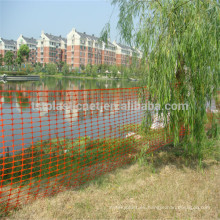 red de valla de seguridad de plástico para protección de árboles o jardines