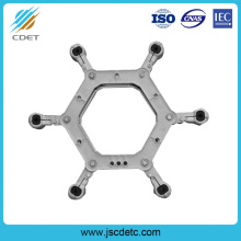 Good Quality for Preformed Armor Rod Power Line Fitting Spacer Damper for Six-Bundle Conductor export to Luxembourg Wholesale