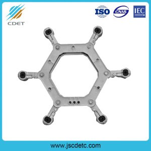 Power Line Fitting Spacer Damper for Six-Bundle Conductor