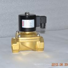dc miniature 5v en acier inoxydable électrovanne viton