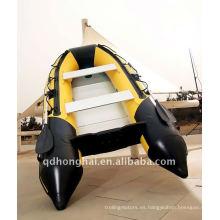 DSM-300 ce fabricante inflable de pvc aluminio utilizado barco de pesca deportiva