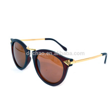 mental round sunglasses with no logo