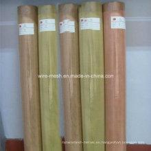 Malla de alambre de latón / malla cuadrada de cobre