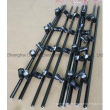 Eclairage en plafonnier multi-lumière flexible noir (DT-ZBD-001)