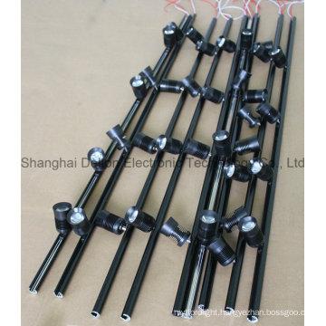 Black Flexible Multi-Light LED Cabinet Lighting (DT-ZBD-001)
