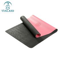 Yugland factory directly non slip pu yoga mat natural rubber mats