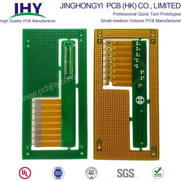 Plaque de trou borgne pour PCB rigide et flexible à 4 couches