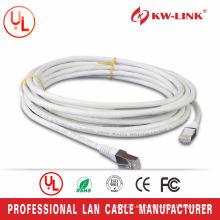 El cable más nuevo del remiendo del ccag cat5e del sftp del diseñador