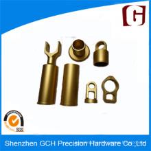 Precisão personalizada CNC Machining peças de latão tubo