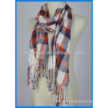 Colorful grid fashion pashmina scarf for sale