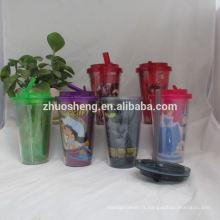 haute qualité belles tasses en plastique incassables