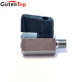 GutenTop High Quality Nickel Plated Brass Mini Ball Valve with Nylon Handle