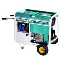 Tragbarer Dieselgenerator 5kw mit GS genehmigt
