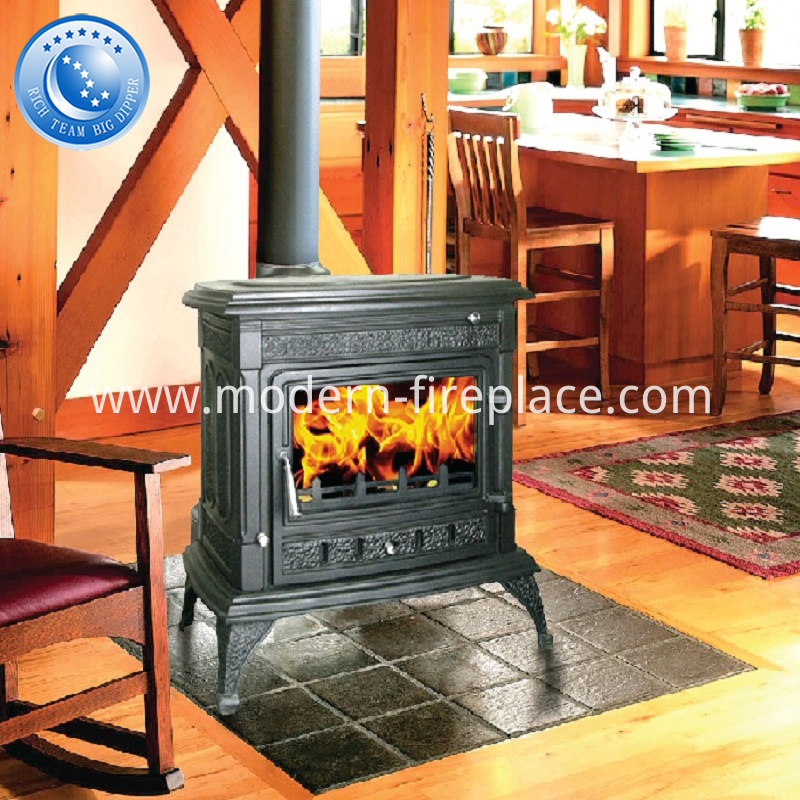 14KW 155KG Cast Iron Wood Burning Stoves