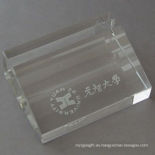 Caja de tarjeta de presentación comercial Crystal Stationery (JD-BJ-009)