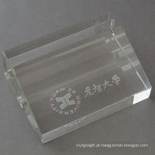 Caixa de cartão de nome de negócio de artigos de papelaria de cristal (JD-BJ-009)