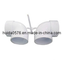 Kunststoff-Spritzgussform (90 Grad Winkelstück 40mm)