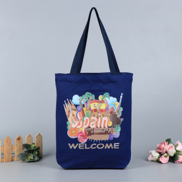 Logo sinh thái tùy chỉnh In Canvas Cotton Tote Bag