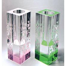 Gros Vases en verre de cristal coloré (15044)