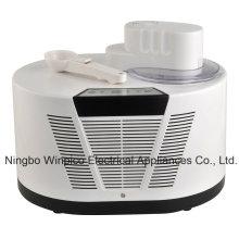 Fabricante de helado suave automática eléctrica con compresor incorporado
