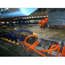 250mm PVC WPC Dekorplatten Extruder Maschinenlinie
