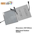 Panel de luz LED impermeable resistente al agua para instalación en exteriores