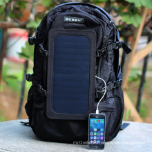 6.5W high efficiency sunpower solar laptop bag