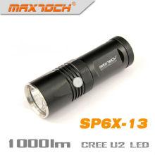 Maxtoch SP6X-13 26650 lanterna 18650 recarregável poder