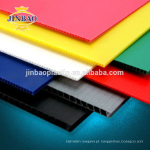 JINBAO colorido piso proteção plástico pp telhas folha 12mm