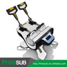 Freesub pneumatic auto mini double-station mug sublimation printing machine