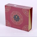 Boîte de rabat en carton de fermeture magnétique emballage personnalisé