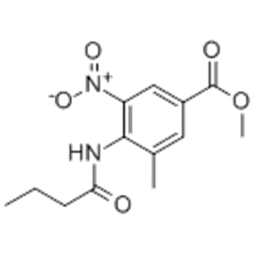 Methyl 4-(butyrylamino)-3-methyl-5-nitrobenzoate CAS 152628-01-8