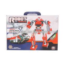 Rote u. Weiße pädagogische Bausteine Roboter