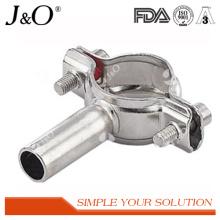 Raccords de tuyaux en tube d'oxygène sanitaire en acier inoxydable