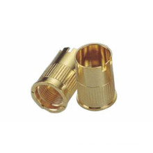 High Precision CNC Turning Brass Partie pour cigarette électronique