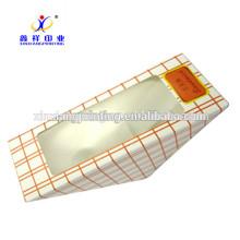 Konkurrenzfähiger Preis! Neue Produkt Top Qualität Dreieck Sandwich Verpackung Papier Box