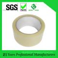 Cinta de empaquetado adhesiva transparente a base de agua de acrílico del pegamento BOPP fabricante de China