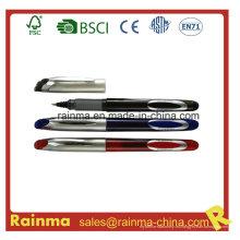 Pluma de tinta líquida con diseño de clip de metal