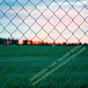 5 Feet Plastic Retractable Chain Link Fence