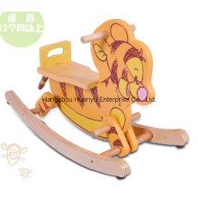 Eje de balancín animal-de madera oscilante del tigre de la alta calidad