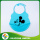 Hot Sale Cartoon Silicone Aprons/Baby Bibs