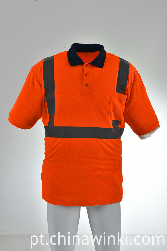 orange safety shirt