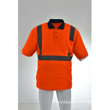 High Visibility Moisture Wicking Long Sleeve Safety Shirt