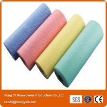 Rouleaux de nettoyage des tissus non tissés à haute qualité Spunlace